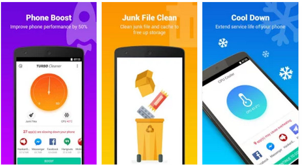Turbo Cleaner review and download  Great app to boost Android
