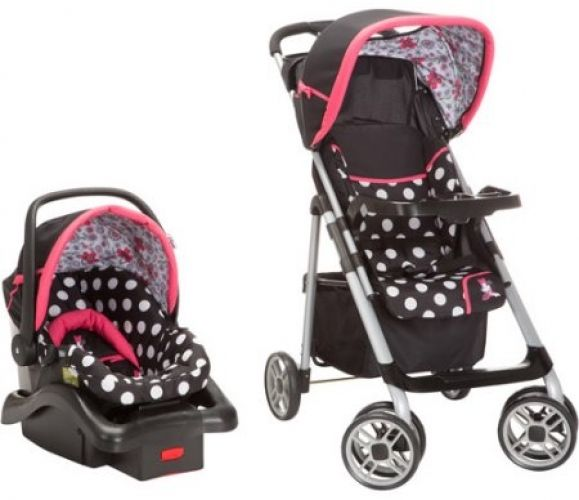 Minnie Mouse Infant Car Seat And Stroller Disney Saunter Sport Lc 22 Travel System Co… « Best Baby