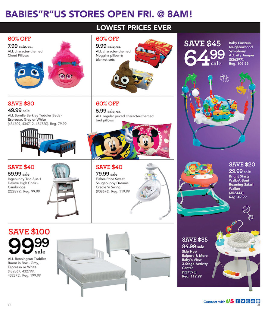 Crib Bedding Toys R Us Babies R Us Black Friday 2018 Ad Deals Sales