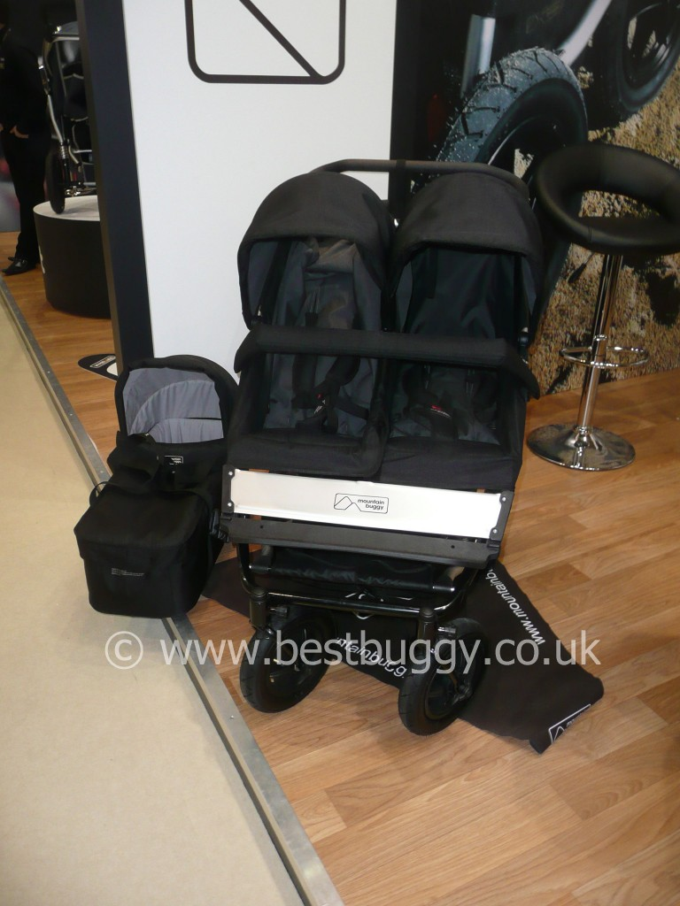 Mountain Buggy Duet Review Mountain Buggy Duet Review From Harrogate Nursery Fair 2011