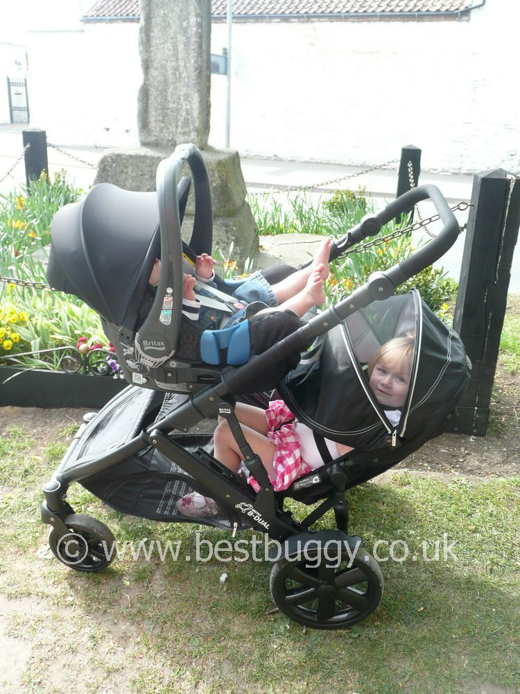 City Jogger Buggy Accessories Britax B Dual 2011 Review By Best Buggy Best Buggy