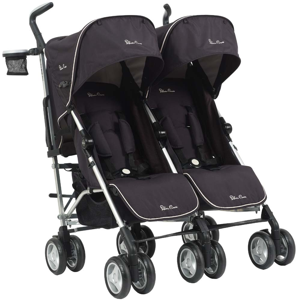 Duo Umbrella Stroller Silver Cross Pop Sport Duo Best Buggy