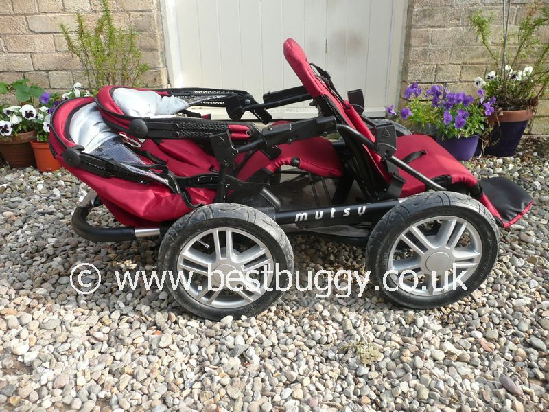 Luxury Double Pushchair Mutsy Urban Rider With Duo Seat Best Buggy