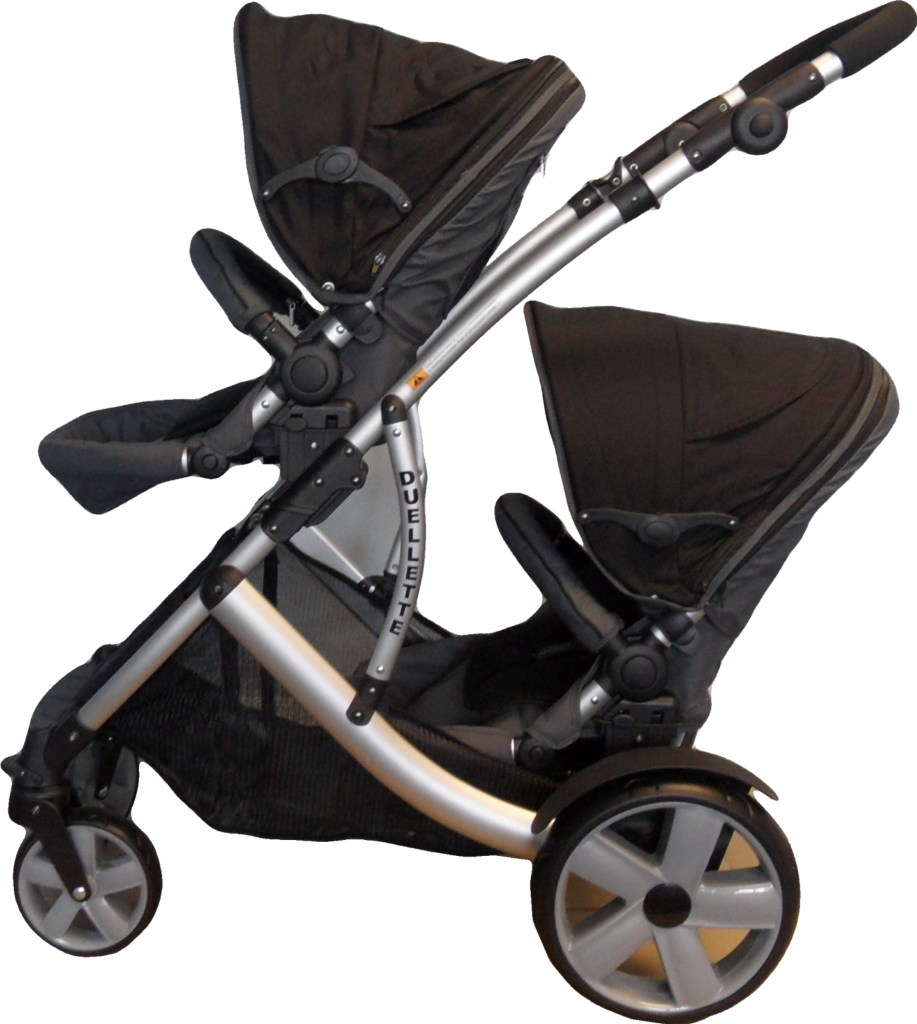 Newborn Toddler Double Pram Kidz Kargo Duellette Best Buggy