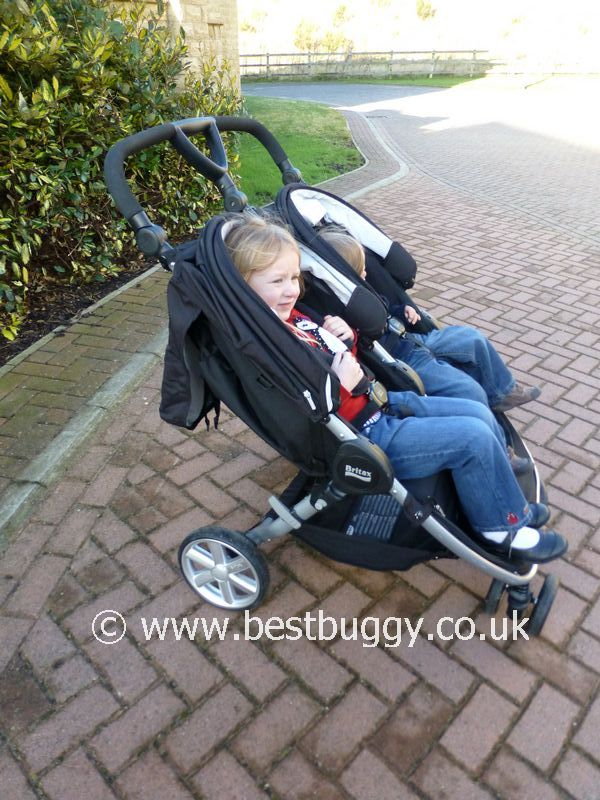 Britax Double Pushchair Reviews Britax B Agile Double Review Best Buggy