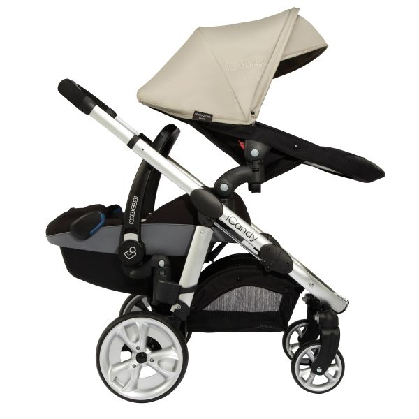 Twin Buggy Maxi Cosi Icandy Apple 2 Pear Best Buggy
