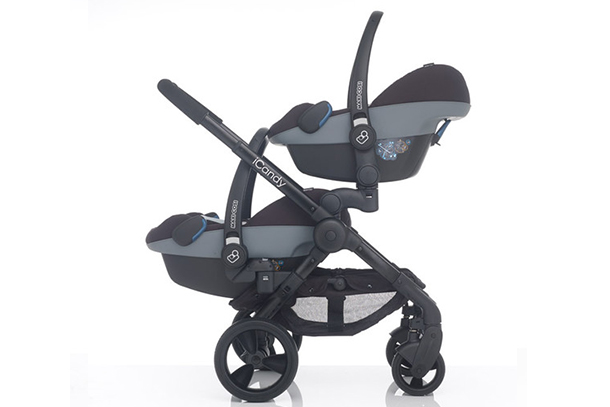 Twin Buggy Maxi Cosi Icandy Peach Blossom And Twin 3 2016 Best Buggy