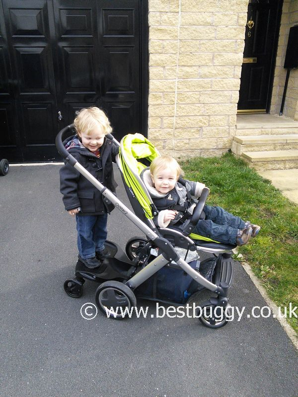 Oyster Max Buggy Babystyle Oyster2 With Ride On Board Review By Kerry