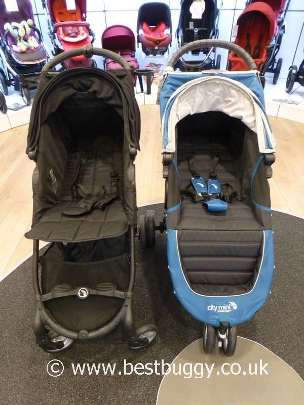 Best City Pushchairs Baby Jogger City Mini Zip V's Baby Jogger City Mini 3