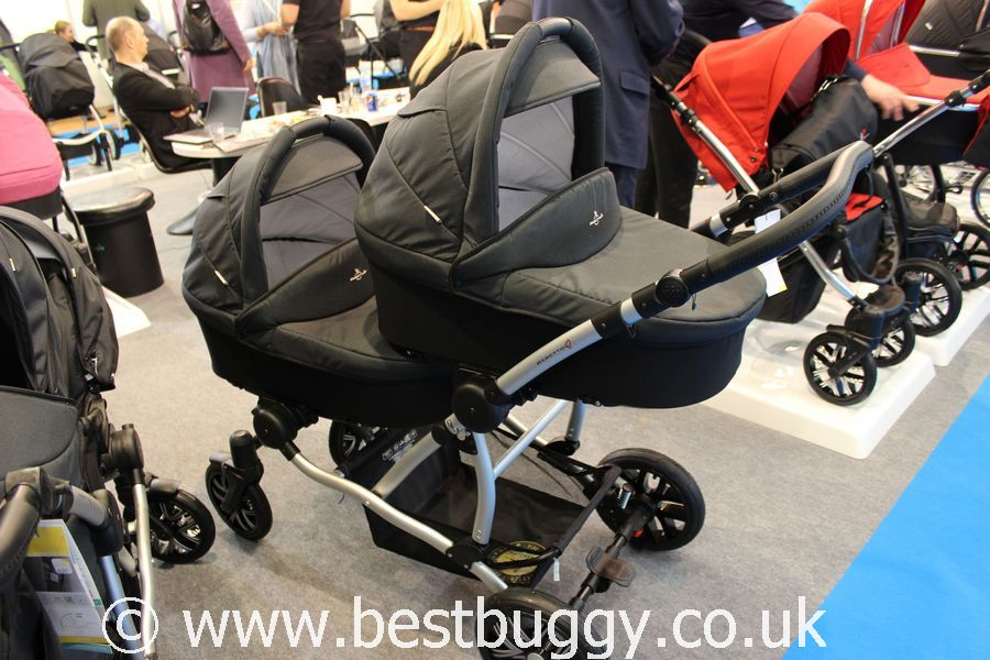 Double Pushchair With Buggy Board Venicci And Bebetto At The Harrogate Nursery Fair 2015