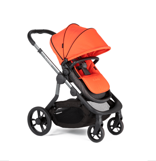 Double Pushchair With Buggy Board Icandy Orange Best Buggy