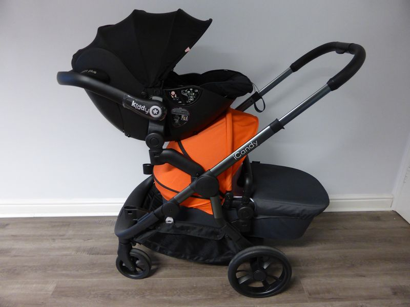 Car Seat And Buggy Icandy Orange Best Buggy