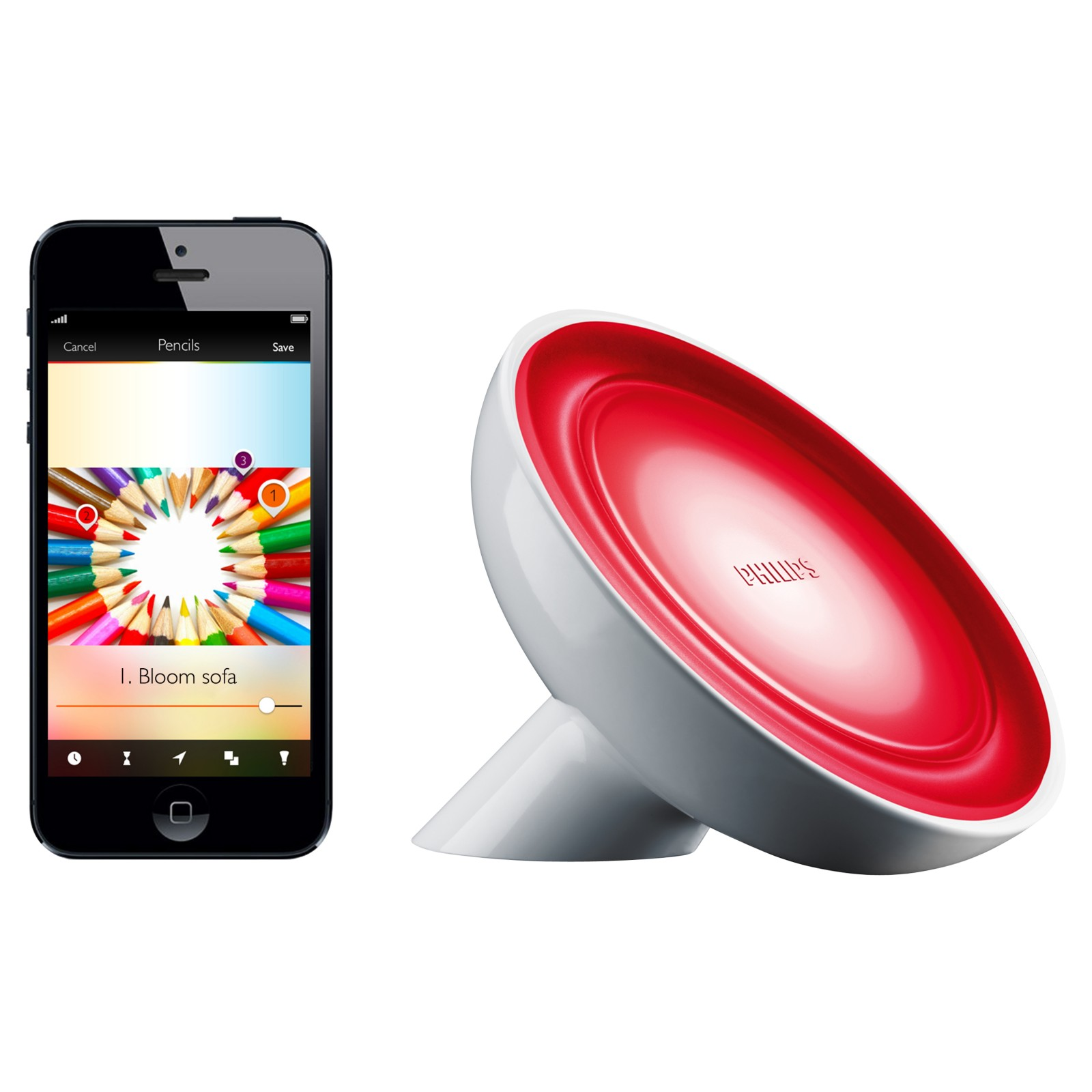 Philips Colour Lamp Philips Friends Of Hue Livingcolors Bloom Colour Changing