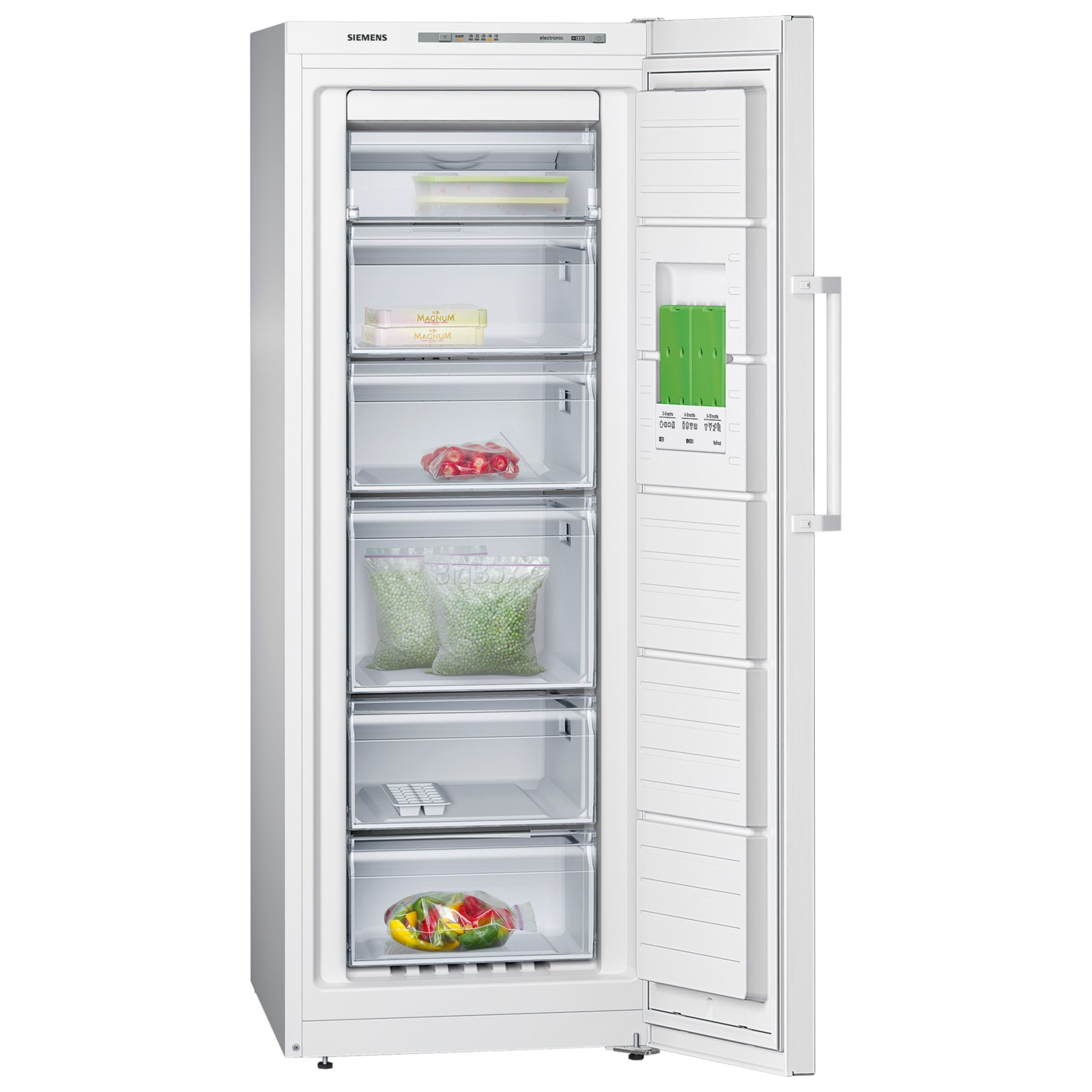 A++ Siemens Gs29nvw30g Tall Freezer A 43 43 Energy Rating 60cm