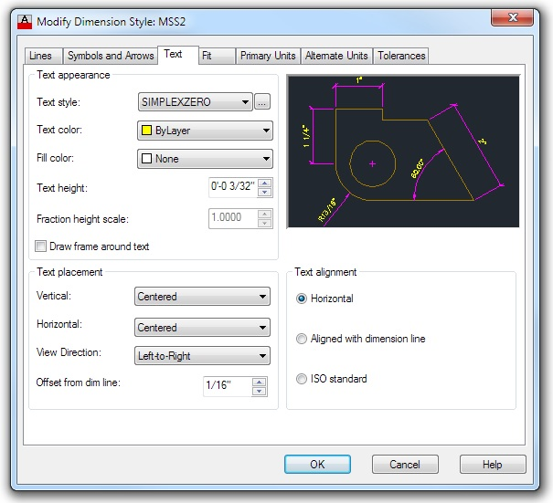 Sizing Text in CAD Dimensions - Best CAD Tips
