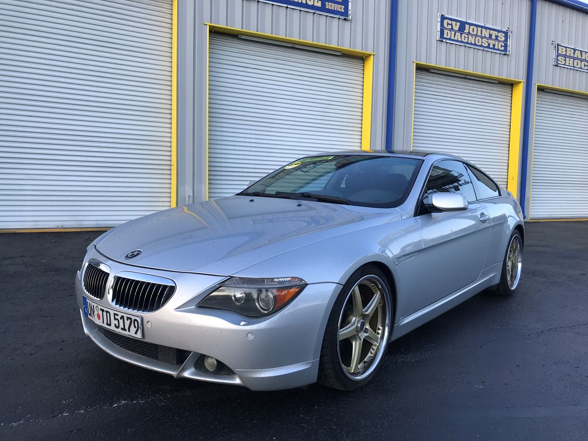 Bmw Gran Coupe 6 2005 Bmw 6 Series Gran Coupe For Sale By Owner In Tampa Fl 33612 8 400