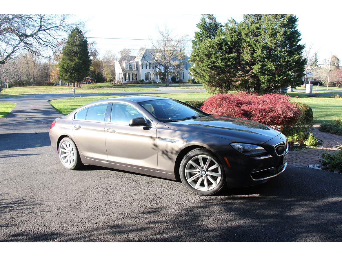 Bmw Gran Coupe 6 2013 Bmw 6 Series Gran Coupe For Sale By Owner In Rockville Md 20850 32 900