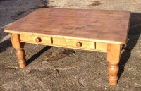 Antique Pine Coffee Table | Coffee Table Design Ideas