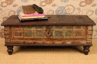 Antique Trunk Coffee Table | Coffee Table Design Ideas