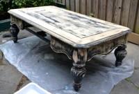 Black Painted Coffee Table | Coffee Table Design Ideas
