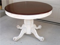 Distressed Round Coffee Table | Coffee Table Design Ideas