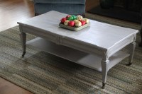 Grey Painted Coffee Table | Coffee Table Design Ideas