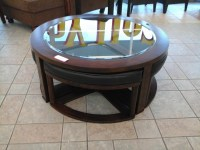 Marion Coffee Table With Stools | Coffee Table Design Ideas