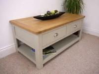 Painted Oak Coffee Table | Coffee Table Design Ideas