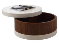 Round Coffee Table With Drawers | Coffee Table Design Ideas