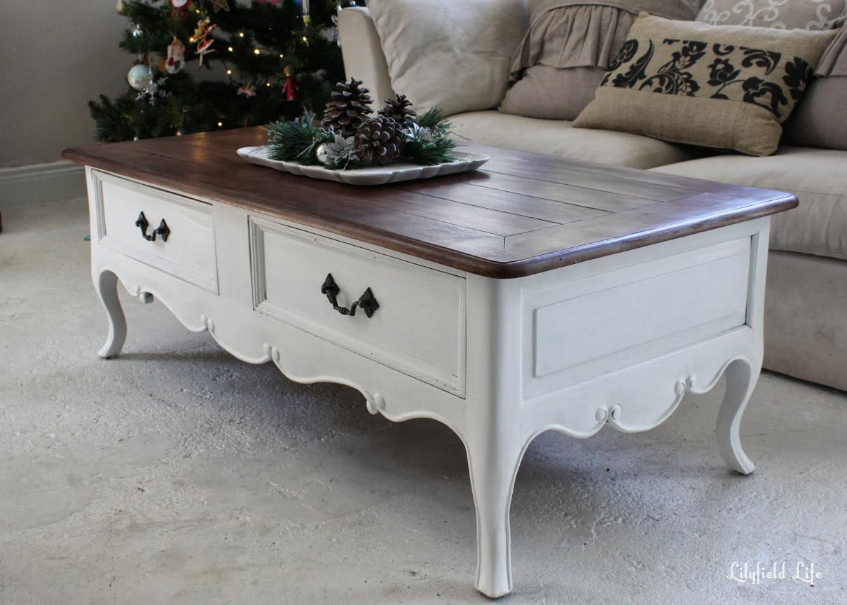 Painting Side Table Ideas White Painted Coffee Table Coffee Table Design Ideas