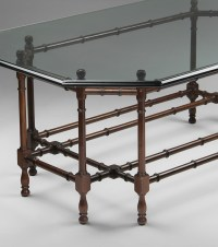 Bamboo Coffee Table With Glass Top | Coffee Table Design Ideas