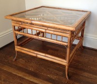 Bamboo Glass Coffee Table | Coffee Table Design Ideas