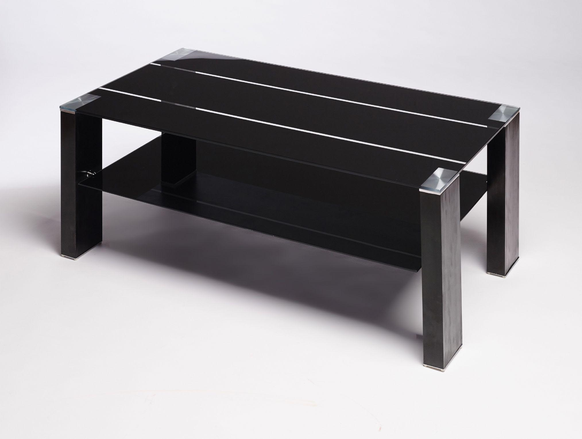 Black Coffee Table Modern Black Glass Coffee Table Contemporary Modern Retro