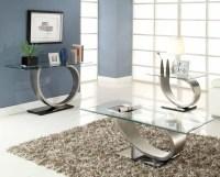 Silver Metal Coffee Table | Coffee Table Design Ideas