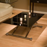 Adjustable Height Glass Coffee Table | Coffee Table Design ...