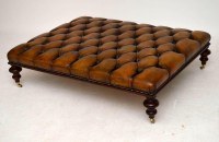 Antique Leather Top Coffee Table | Coffee Table Design Ideas
