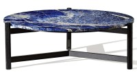 Blue Marble Coffee Table | Coffee Table Design Ideas