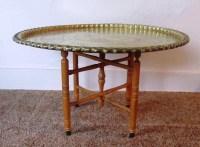 Brass Moroccan Coffee Table   Coffee Table Design Ideas