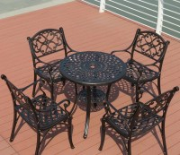 Cast Iron Patio Coffee Table | Coffee Table Design Ideas