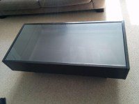 Coffee Table Display Case Glass Top IKEA | Coffee Table ...