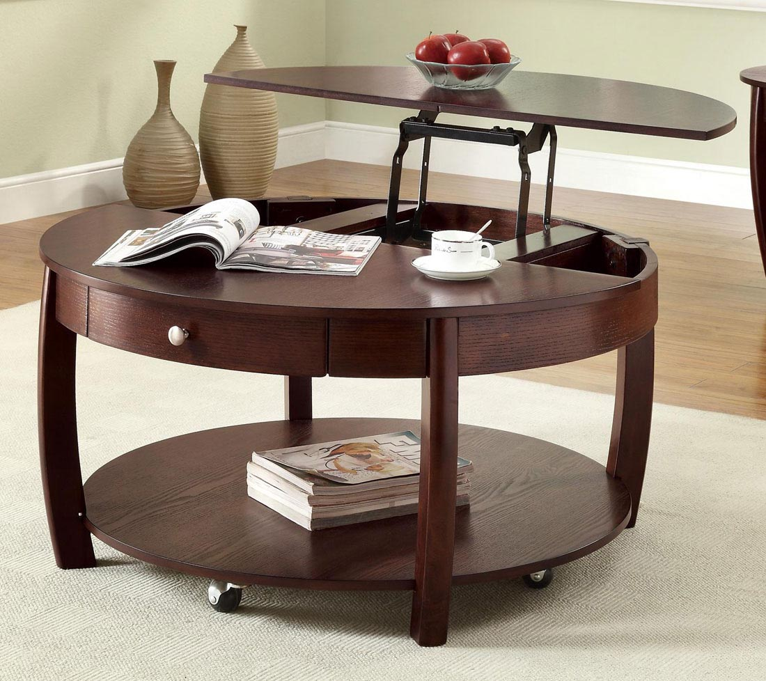 Coffee And End Tables With Storage Coffee Table On Wheels With Storage Coffee Table Design