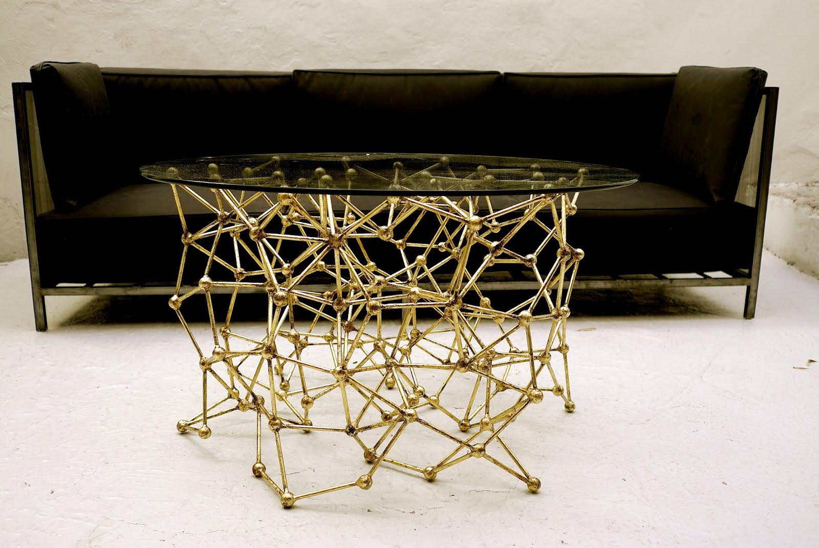 Glass Coffee Table With Gold Legs Gold Metal Glass Coffee Table Coffee Table Design Ideas