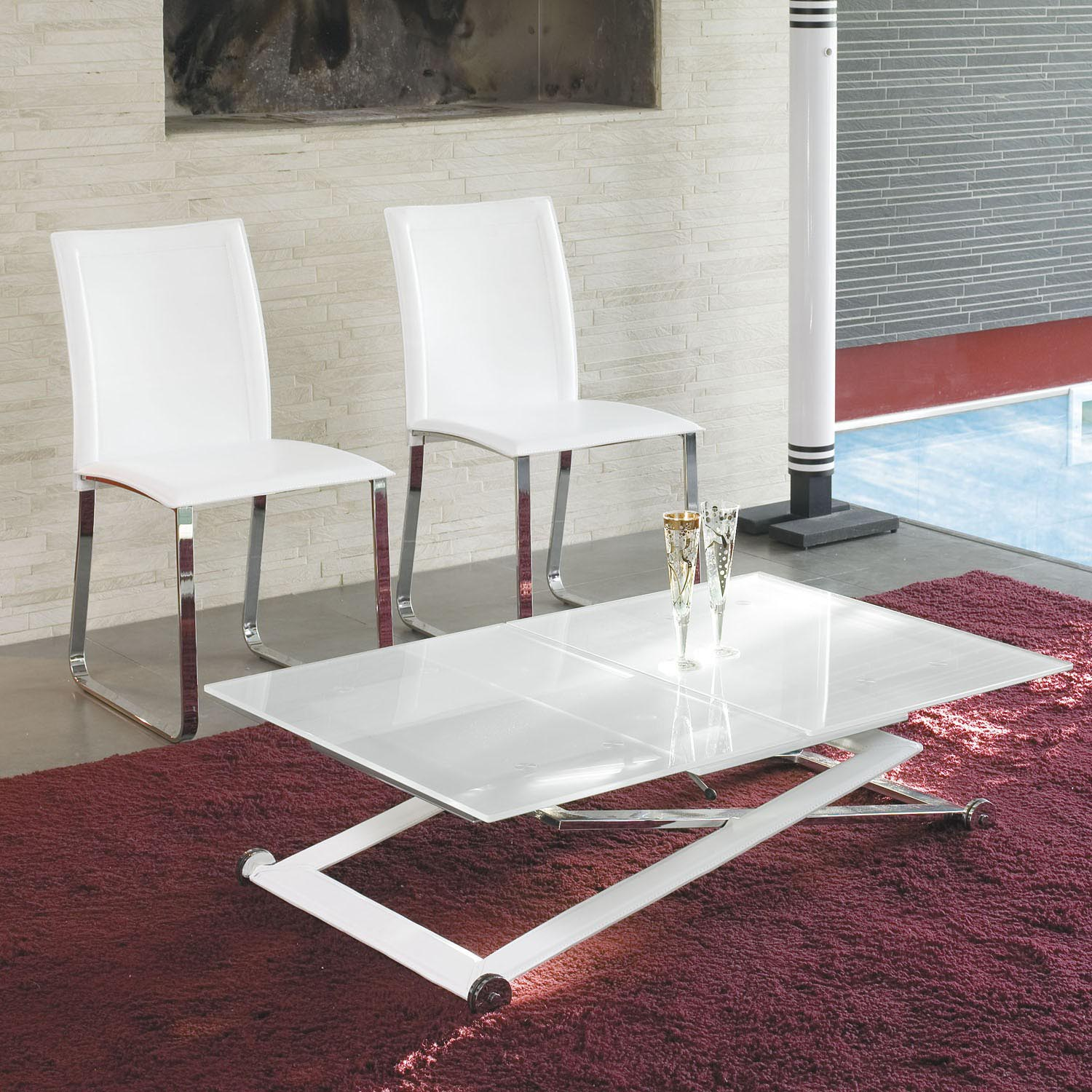 Coffee Table That Becomes Dining Table Height Adjustable Coffee Table Expandable Into Dining