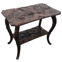 Japanese Carved Coffee Table | Coffee Table Design Ideas