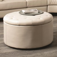 Leather Coffee Tables Ottomans | Coffee Table Design Ideas