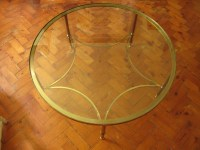 Round Brass Coffee Table | Coffee Table Design Ideas