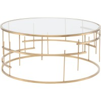 Round Glass Coffee Table Gold | Coffee Table Design Ideas