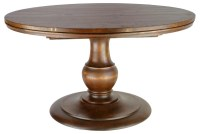 Round Oak Pedestal Coffee Table   Coffee Table Design Ideas