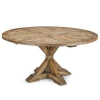 Round Wood Pedestal Coffee Table   Coffee Table Design Ideas