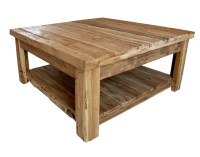 Rustic Modern Coffee Table | Coffee Table Design Ideas